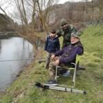 Grande successo all'apertura della pesca sportiva sul fiume Giovenco