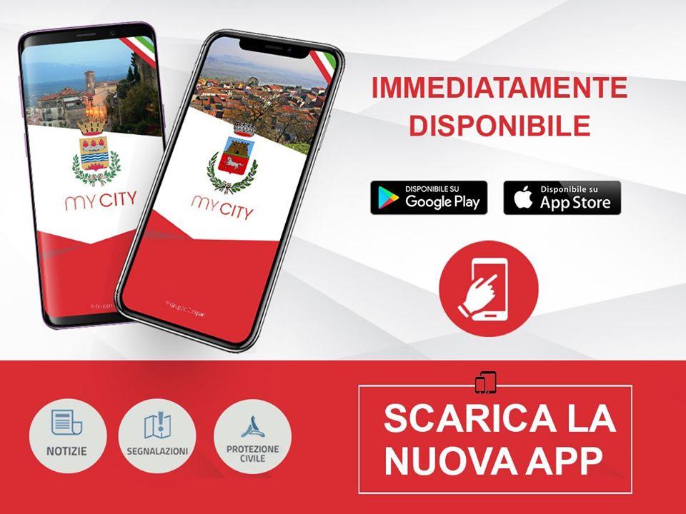 """Covid-19, l'Amministrazione comunale di Trasacco attiva l'app """"mycity"""""""