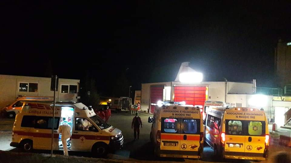 Sale il numero di casi sospetti trasportati all'Ospedale di Avezzano, intanto un nuovo caso positivo a Magliano De'Marsi