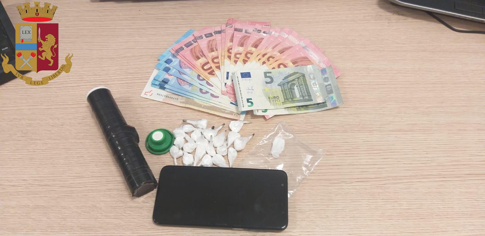 Giovane arrestato per detenzione di droga