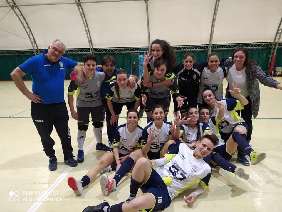 Futsal femminile: l'Orione vince e si porta al primo posto in classifica