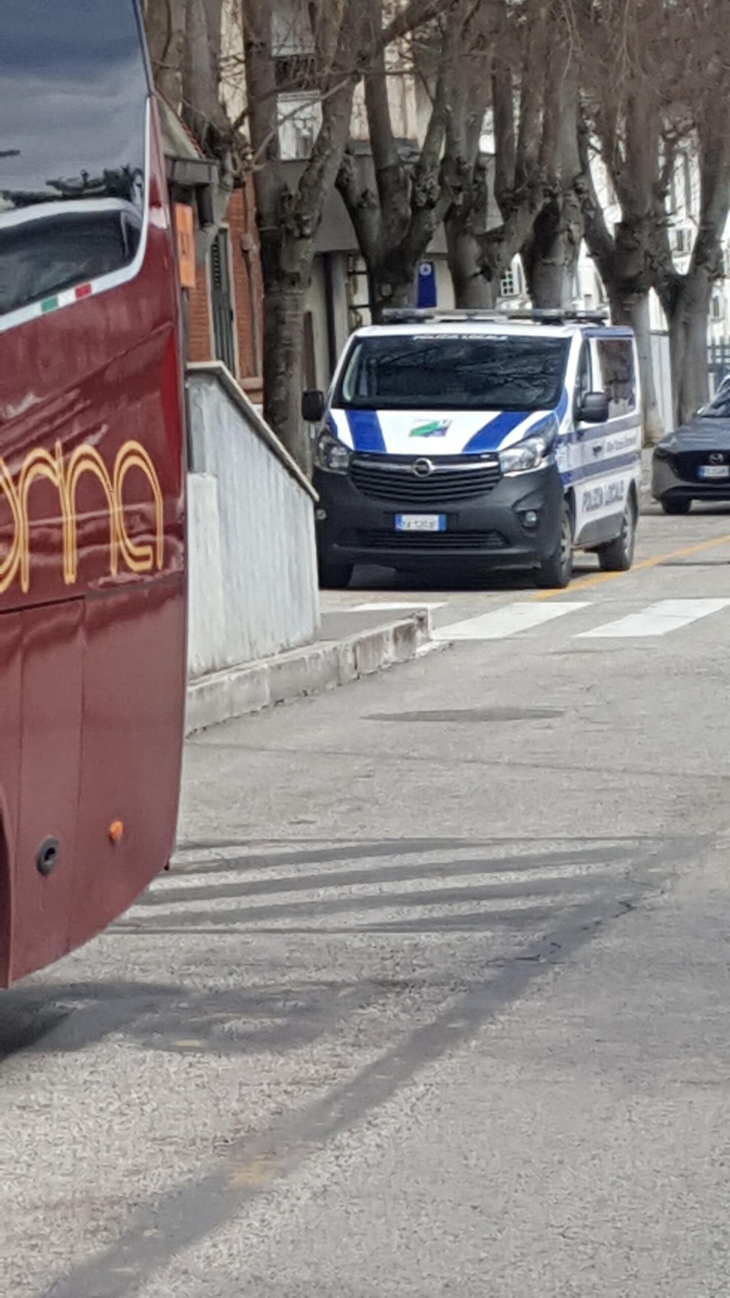 Coronavirus, controlli a tappeto alla stazione di Avezzano e al terminal autobus