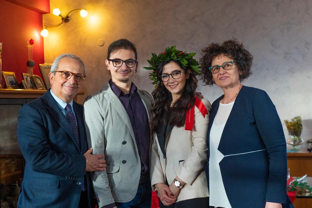 Avezzano, Giovanna Pellegrino Scafati si è brillantemente laureata con 110 e lode