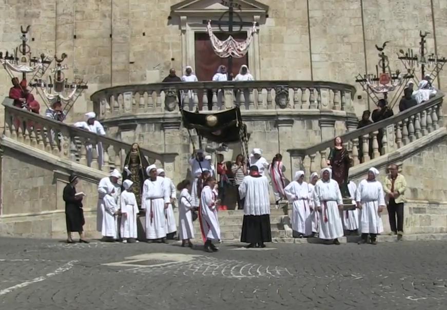 A Scurcola, causa Coronavirus, quest'anno niente Cenacolo e niente Processione di Venerdì Santo