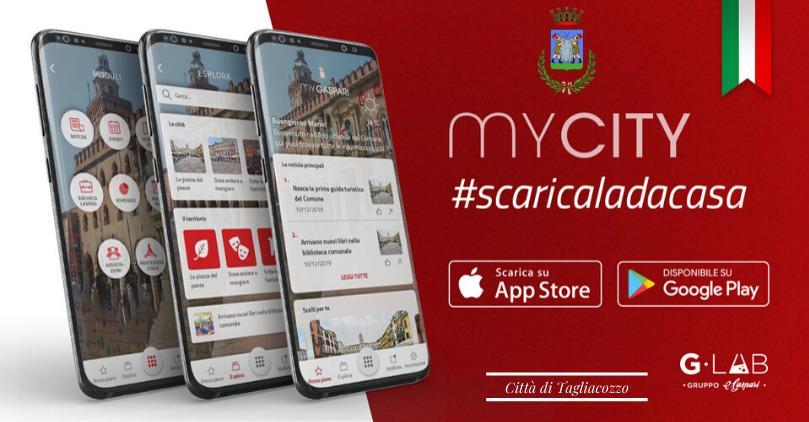 App MyCity la nuova App del comune di Tagliacozzo