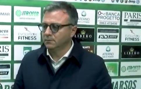 """Avezzano Calcio, Paris: """"Per me il campionato deve finire qui, dobbiamo tutelare i nostri tesserati"""""""