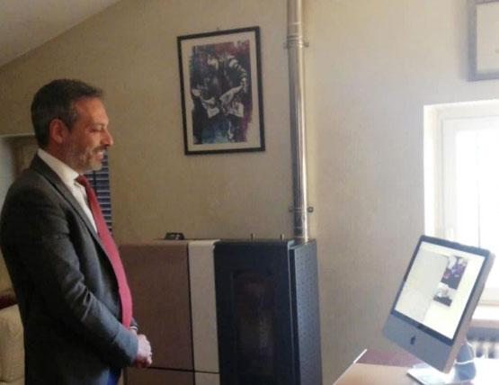 Di Avezzano il primo marsicano che si è laureato via Skype