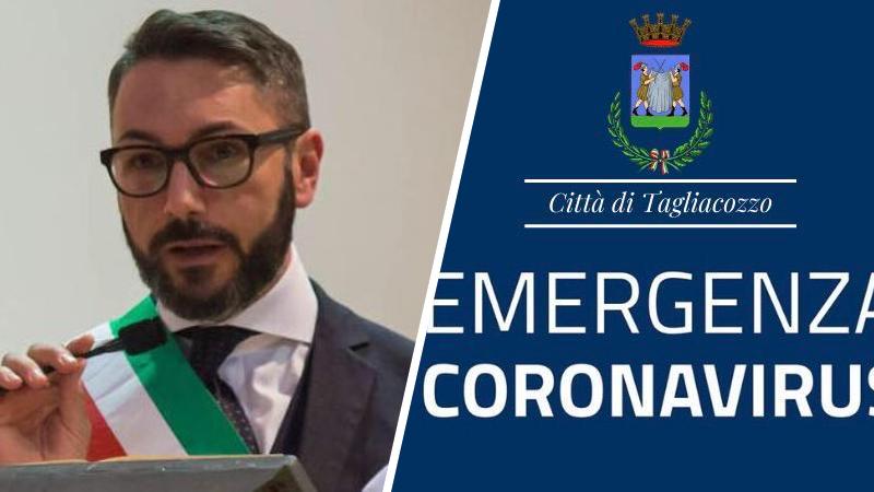 Emergenza coronavirus, Tagliacozzo sospende il pagamento delle imposte comunali