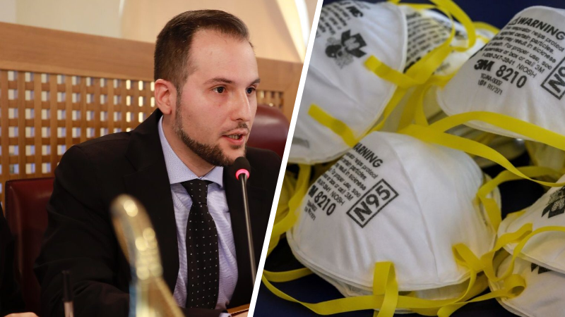 """Giorgio Fedele annuncia, """"dovrebbero arrivare domani 19 marzo i dispositivi di protezione individuale all'Ospedale di Avezzano."""""""