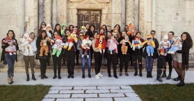 Mamme di San Benedetto dei Marsi donano alla Caritas beni di prima necessità per bambini e neonati