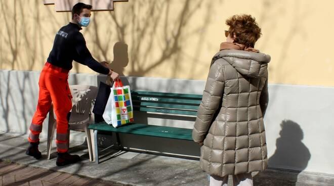 La solidarietà ai tempi del Coronavirus, Farmaci e spesa a domicilio a Scurcola Marsicana e Civitella Roveto per le persone più bisognose