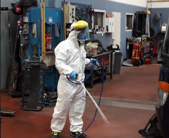 TUA: sanificati tutti gli ambienti di lavoro