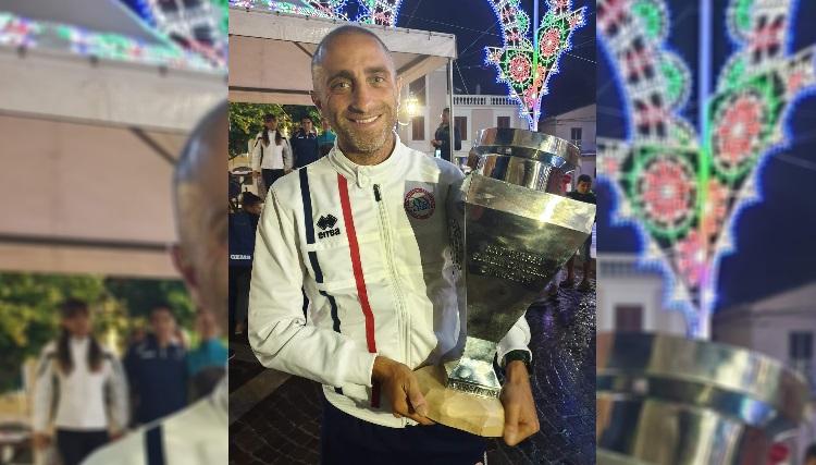 Il marsicano Mirko Fantozzi campione regionale di cross nella categoria Master