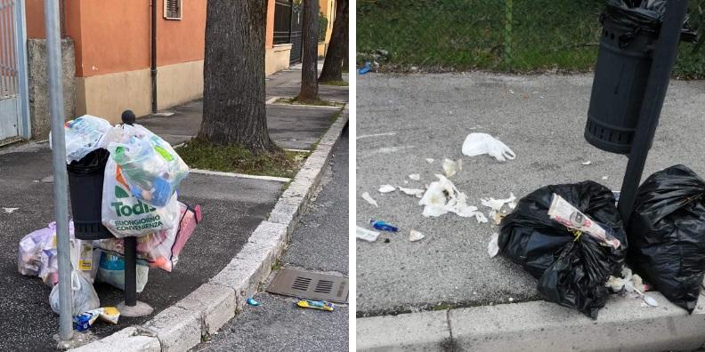 """Avezzano, gli """"zozzoni"""" tornano alla carica, cumuli di rifiuti in città"""