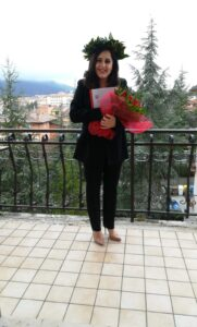 Laurea ad Avezzano con 110/110 e lode in Medicina e chirurgia per Valeria Pedrini
