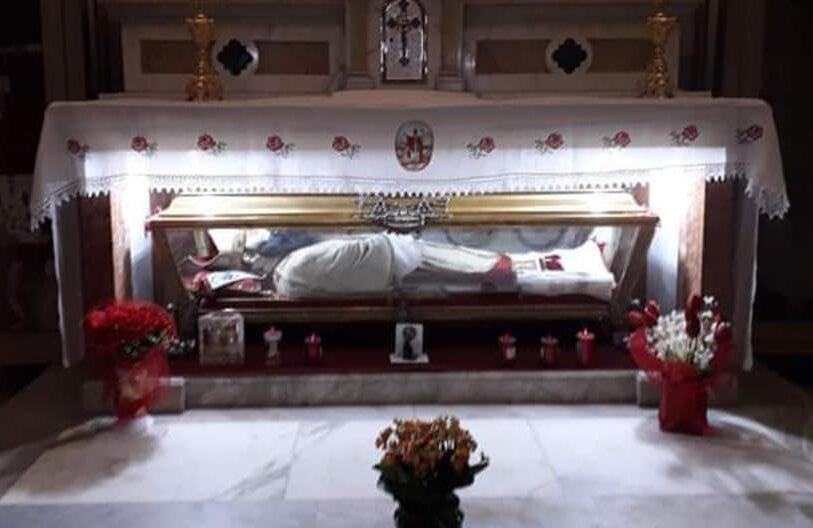 Pescina festeggia San Berardo patrono della Marsica a porte chiuse. La celebrazione presieduta dal Vescovo sarà visibile sul canale 119 del digitale terrestre