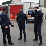 Le Guardie giurate dell'Ospedale di Avezzano ringraziano le sarte Paola e Valeria per le mascherine donate
