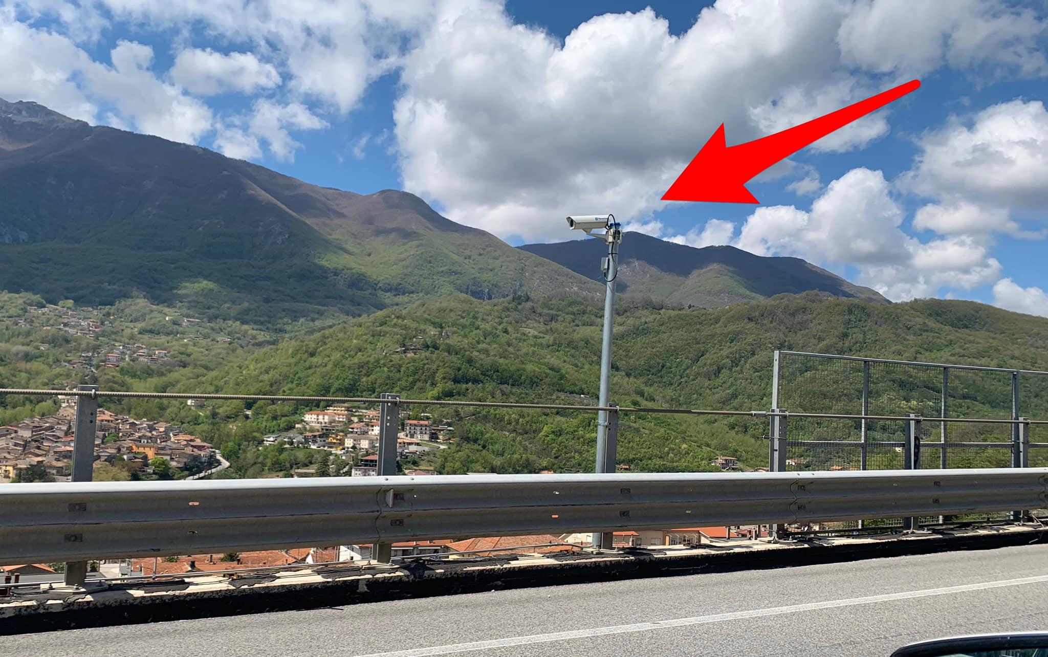 Nuove telecamere sulla Superstrada del Liri in direzione Avezzano