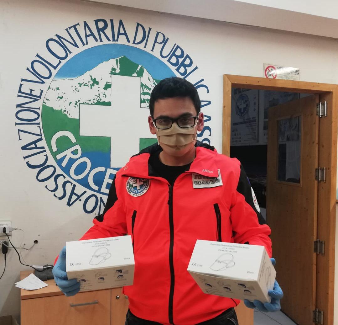 Dalla LFoundry una fornitura di mascherine per le pubbliche assistenze di ANPAS Abruzzo