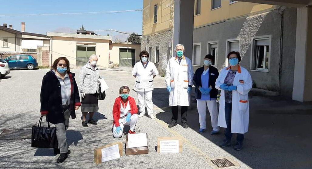 I cittadini di Lecce nei Marsi in aiuto al Pta di Pescina