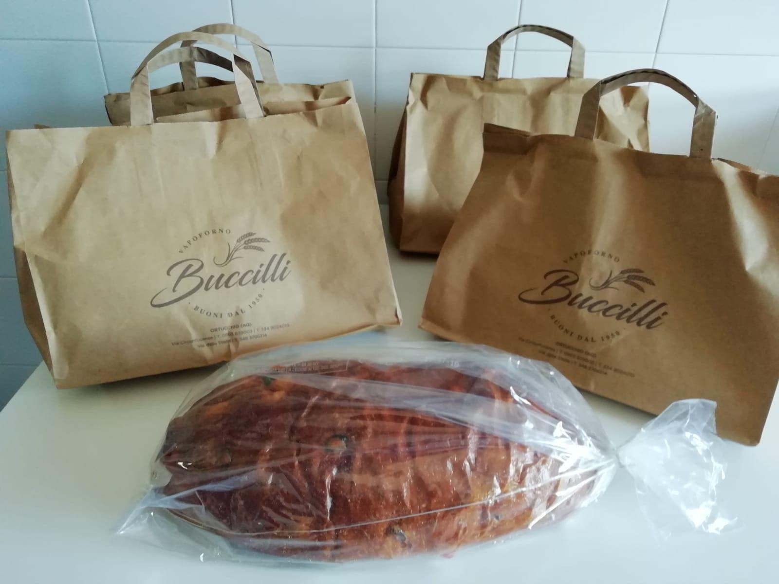 Pizze di Pasqua in dono a tutto il personale del PTA di Pescina