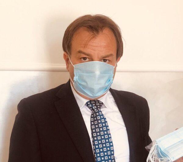 Il Comune di Cerchio dona 350 mascherine chirurgiche al tribunale di Avezzano e al Consiglio dell'Ordine degli Avvocati
