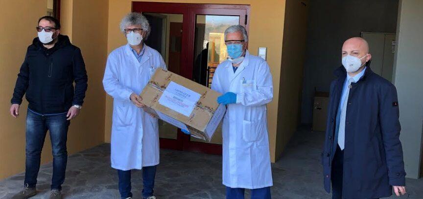 Il Lions Club L'Aquila è sceso in campo nella lotta al Coronavirus