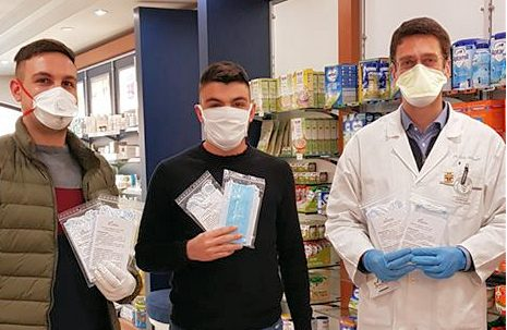 La Consulta dei Giovani di Trasacco dona dispositivi di protezione individuale all'Ospedale di Avezzano e all'Avis di Trasacco