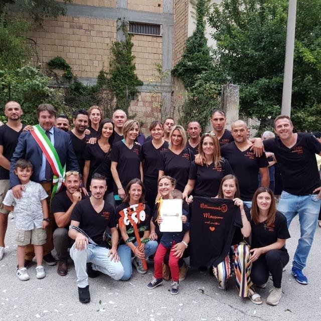 I ragazzi del 1980 di San Benedetto dei Marsi, donano DPI all'Ospedale di Avezzano e al PTA di Pescina