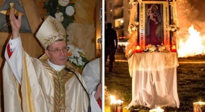 """Festeggiamenti """"Madonna di Pietraquaria"""", il rosario in diretta sui canali social insieme al Vescovo Santoro"""