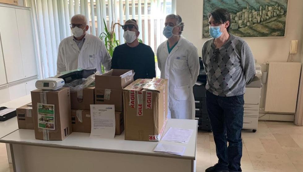 Consegnati agli Ospedali di Avezzano e Sulmona i presidi medici acquistati da Confagricoltura L'Aquila e da ONLUS Senior