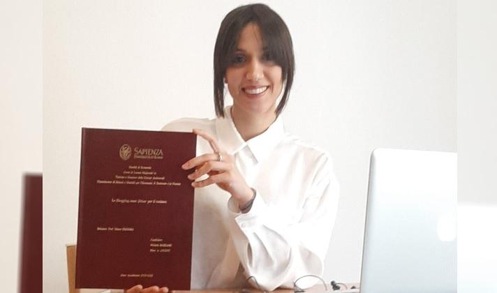 Si laurea a pieni voti la giovane celanese Michela Mariani