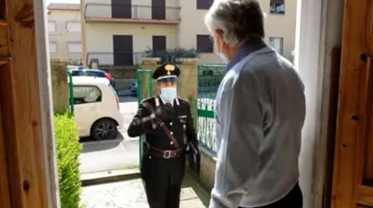 Carabinieri e Poste, i pensionati potranno richiedere la consegna della pensione adomicilio