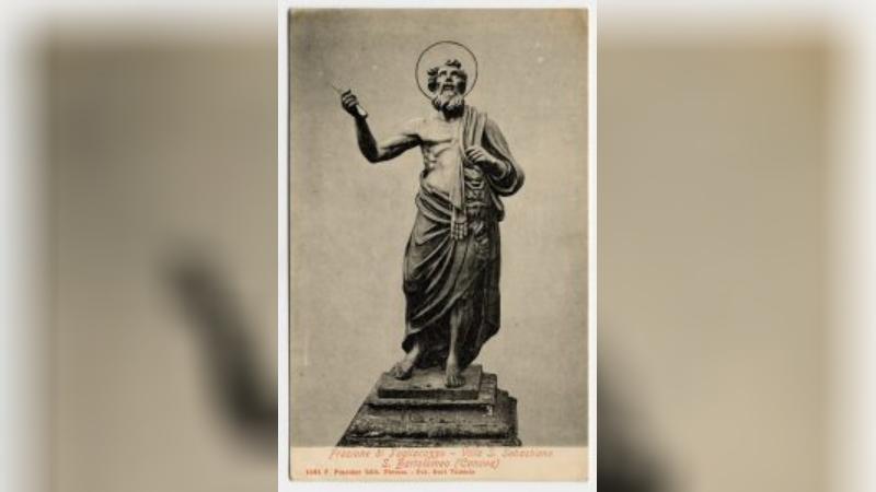 Statua di S. Bartolomeo di Villa San Sebastiano: opera di Antonio Canova?