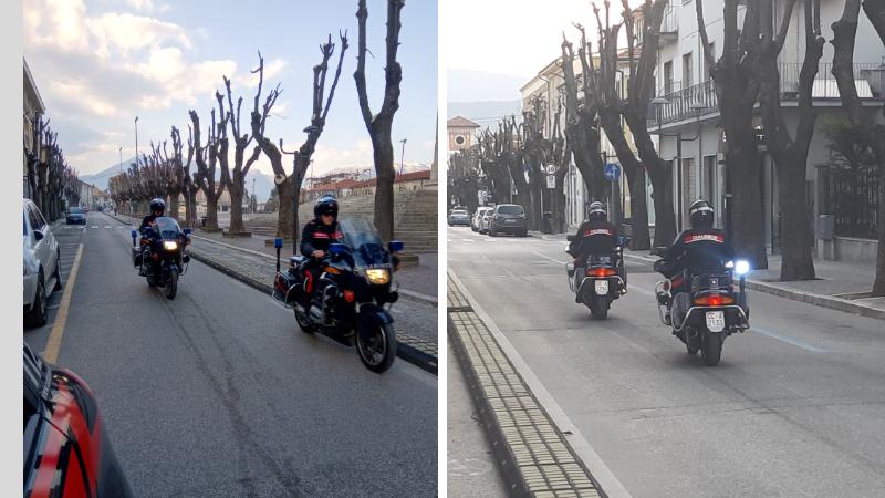 Un settimana di controlli serrati dei Carabinieri della Compagnia di Avezzano, tutto sommato la Marsica si sta comportando bene
