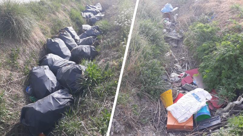 Aumentano i rifiuti nel Fucino, le pessime condizioni dei canali di Strada 5