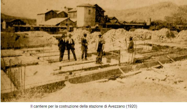 Raffaele Paolucci all'inaugurazione della Stazione di Avezzano: «Oggi è la patria nuova che cammina»