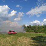 Incendio nell'area fucense del comune di Cerchio