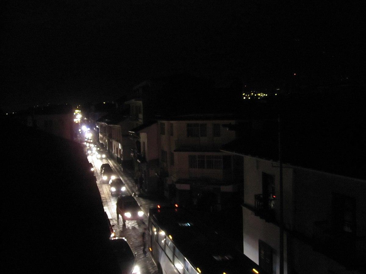 Black-out ad Avezzano, diverse aree della Città al buio