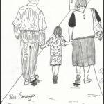 Bambini e ragazzi di Celano disegnano per i nonni della casa di riposo