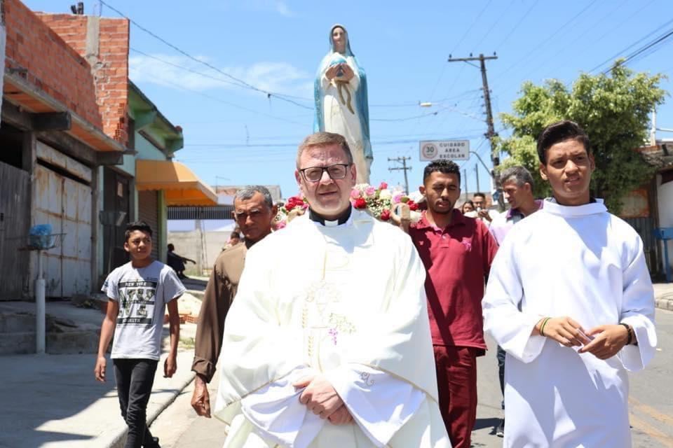Un Rosario italo-brasiliano in diretta con Don Ennio Tarola e Padre Beniamino Resta