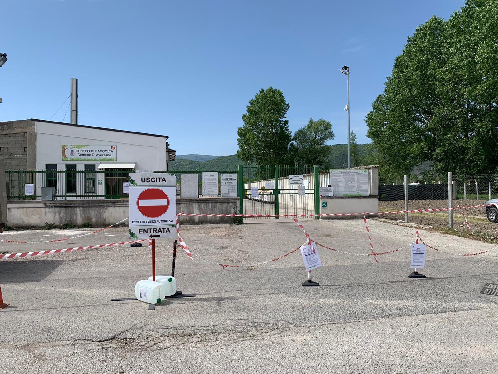 Riapre il centro di raccolta comunale di Avezzano, ecco le regole da seguire