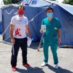 HMD Italia Regione Abruzzo dona Termoscanner all'Ambulatorio Vaccinale di Pescina ed ai medici dell'USCA