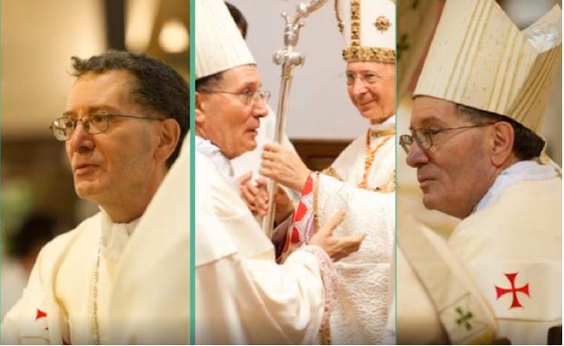 Cinquant'anni di presbiterato del Vescovo Pietro Santoro, gli auguri dei giovani della Diocesi di Avezzano