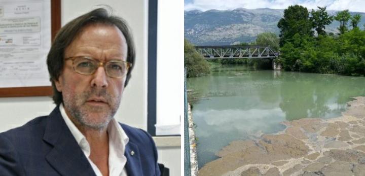 Inquinamento fiume Liri, il sindaco di San Vincenzo Valle Roveto, Giulio Lancia, chiama a raccolta i sindaci della Marsica
