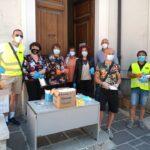Luco dei Marsi, la task force per l'emergenza prosegue nella distribuzione di mascherine