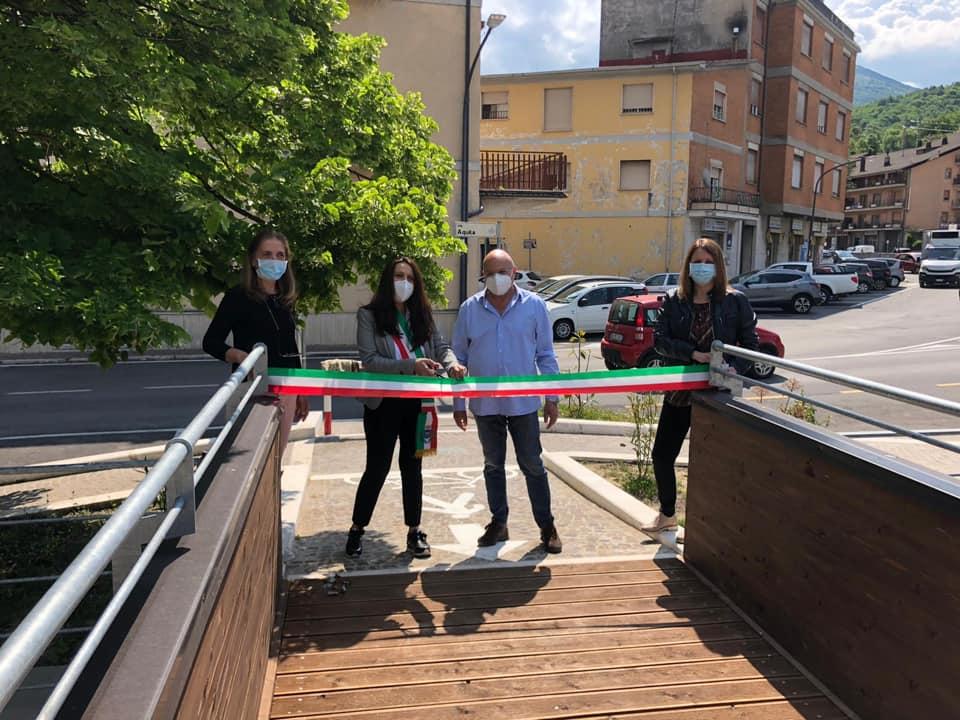 Inaugurati due ponti di Legno sul Fiume Turano