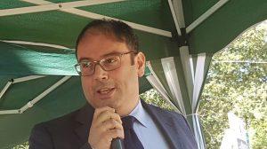 Punto di Primo Intervento di Pescina, Alfonsino Scamolla, presidente del Consiglio di Fontamara dissotterra l'ascia di guerra