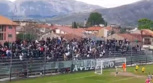 Avezzano Calcio, un anno fa la salvezza conquistata ai playout contro il Santarcangelo