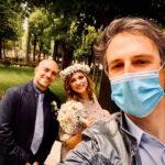 Amore e matrimonio ai tempi del coronavirus. Il sì di Marzia e Lucio